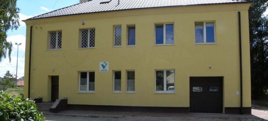 Budynek administracyjny przy ul. Parkowa 2 w Opolu Lubelskim