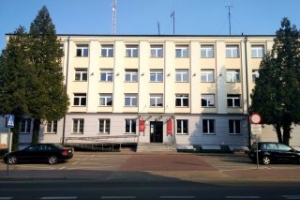Administration building located at 4 Lubelska Street in Opole Lubelskie